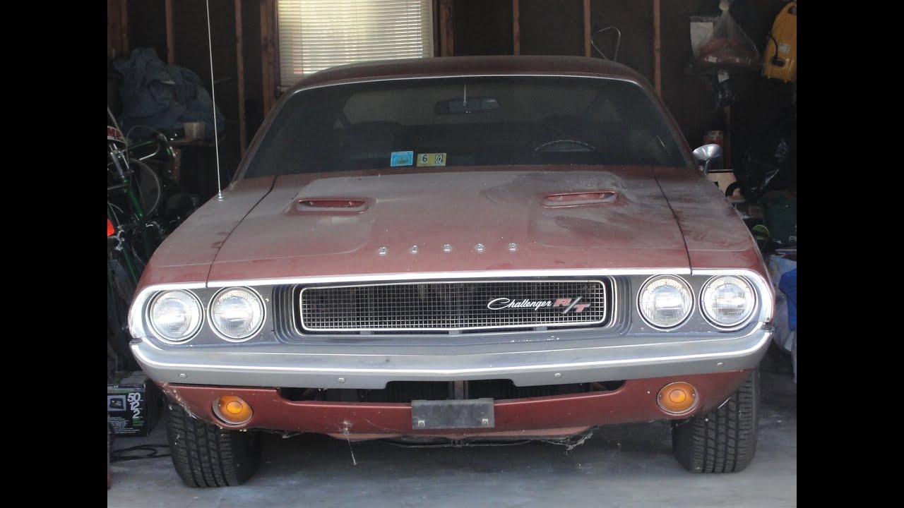 Rare Garage Find 1970 Dodge Challenger Rt Burnt Orange