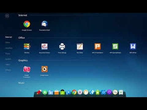 Linux review deepin os 15 3 shiny happy os youtube for Linux watch