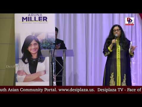Neelima Gonuguntla Speech at DFW Indian Community - Honoring Aruna Miller || DesiplazaTV || Irving