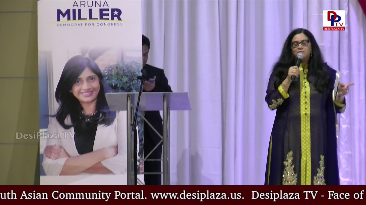 Neelima Gonuguntla Speech at DFW Indian Community - Honoring Aruna Miller || DesiplazaTV || Irving