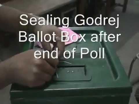 281. Sealing of Godrej Ballot Box after poll, Panchayat Vote