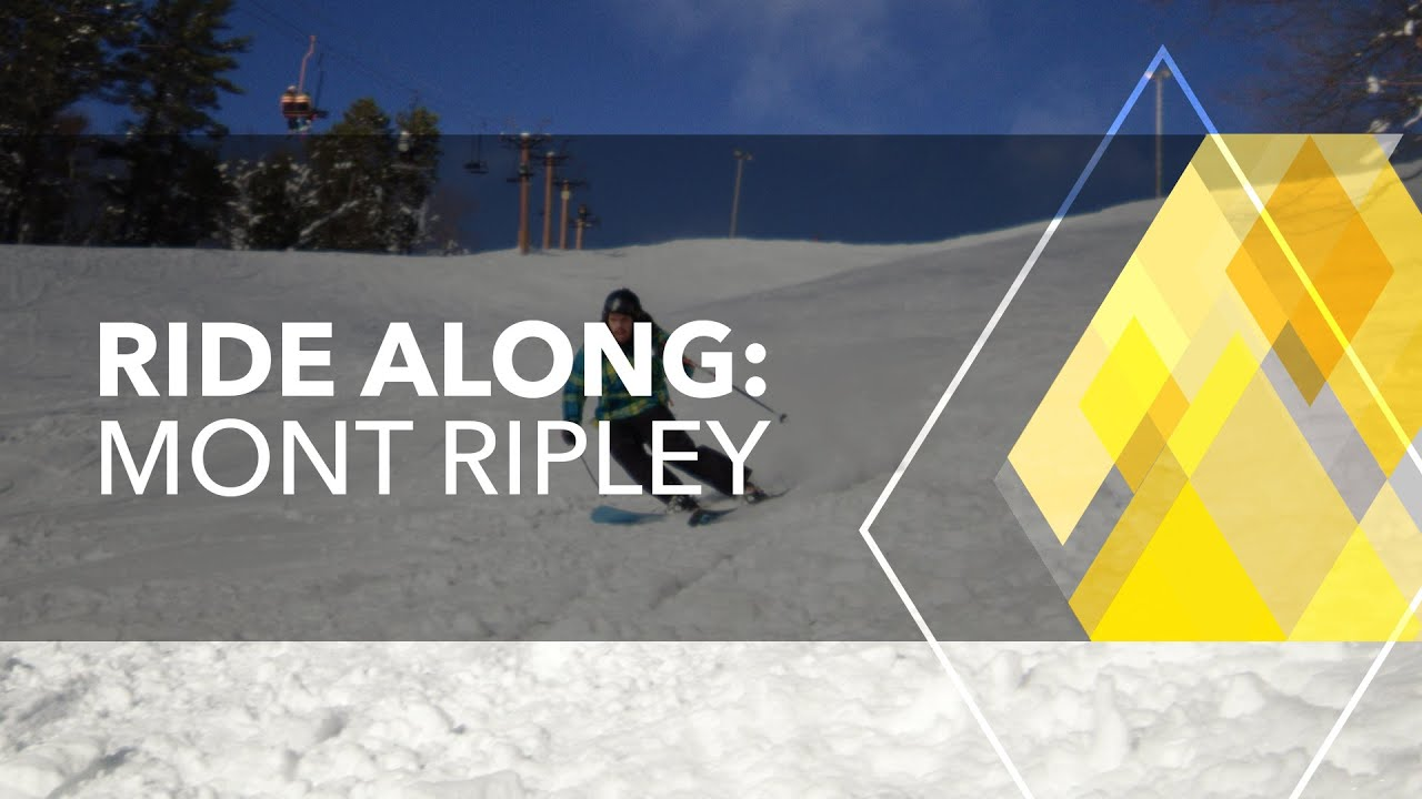 Preview image for Ride Along: Skiing at Mont Ripley video