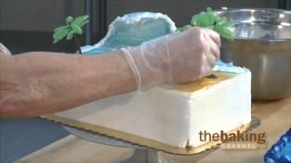 Ocean Wave Cake