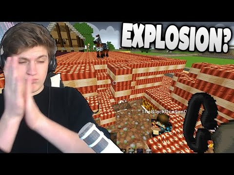 TEURES MINECRAFT HAUS VON BÖSEM SPIELER WIRD GESPRENGT! - Fieser Minecraft TROLL!