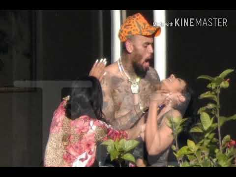 Chris Brown Choked Another Female