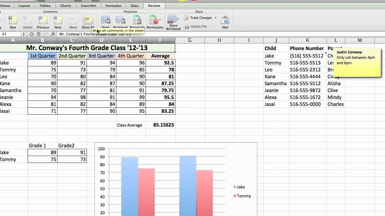 How To Display A Tooltip In Excel Using Microsoft Excel