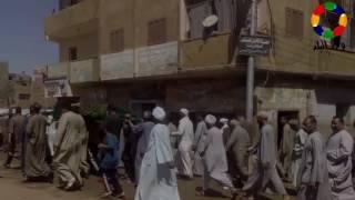 فيديو| تشييع جثمان سيد الضوي راوي السيرة الهلالية فى مسقط رأسه قوص - قوص النهاردة