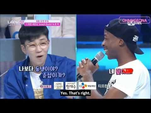 """[ENGLISH SUBTITLES] Choi Yunseop (Joseph Busto) sing """"Thought of you"""" with amazing voice"""