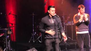 Jonathan live event clips including Hatishma Koli with David D'or