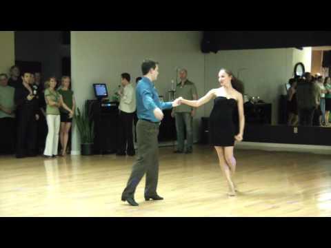 Yana Petkov & Christopher Hoff dancing Int'l Rumba
