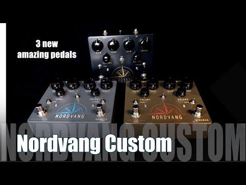 3 New Nordvang Custom Pedals / Simon Gotthelf