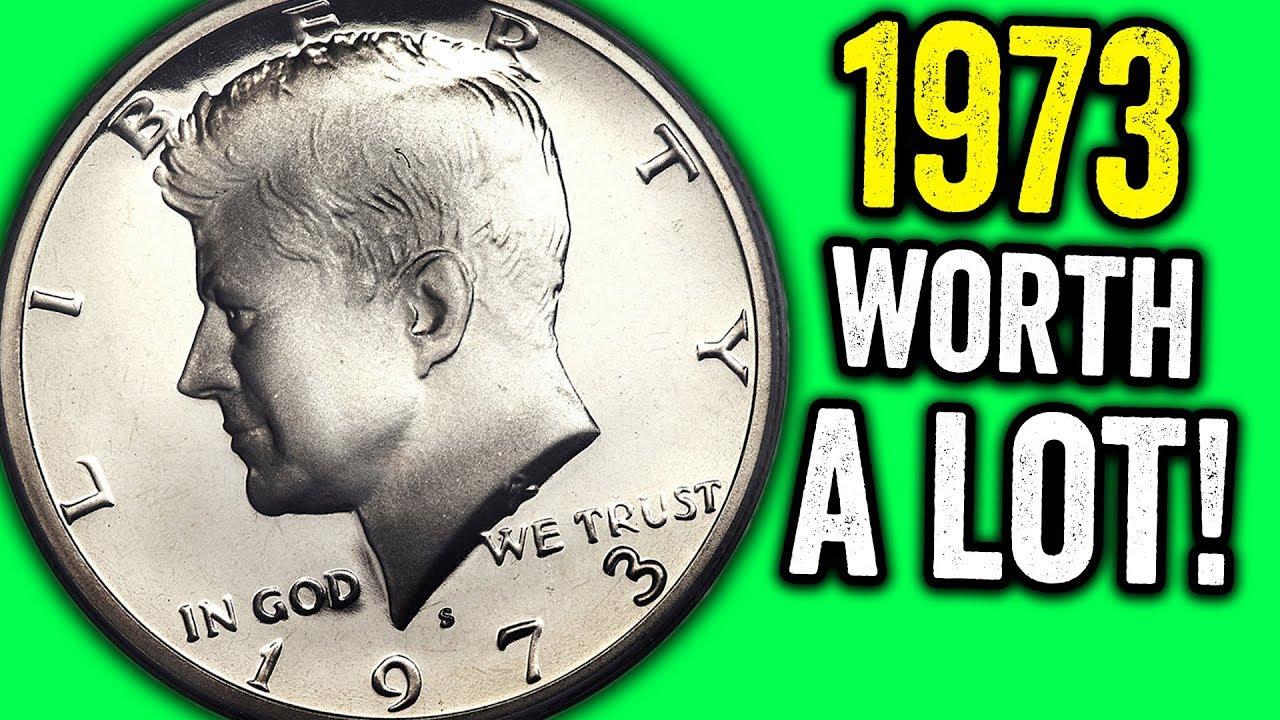 1973-D 50C Kennedy Half Dollar Ch BU