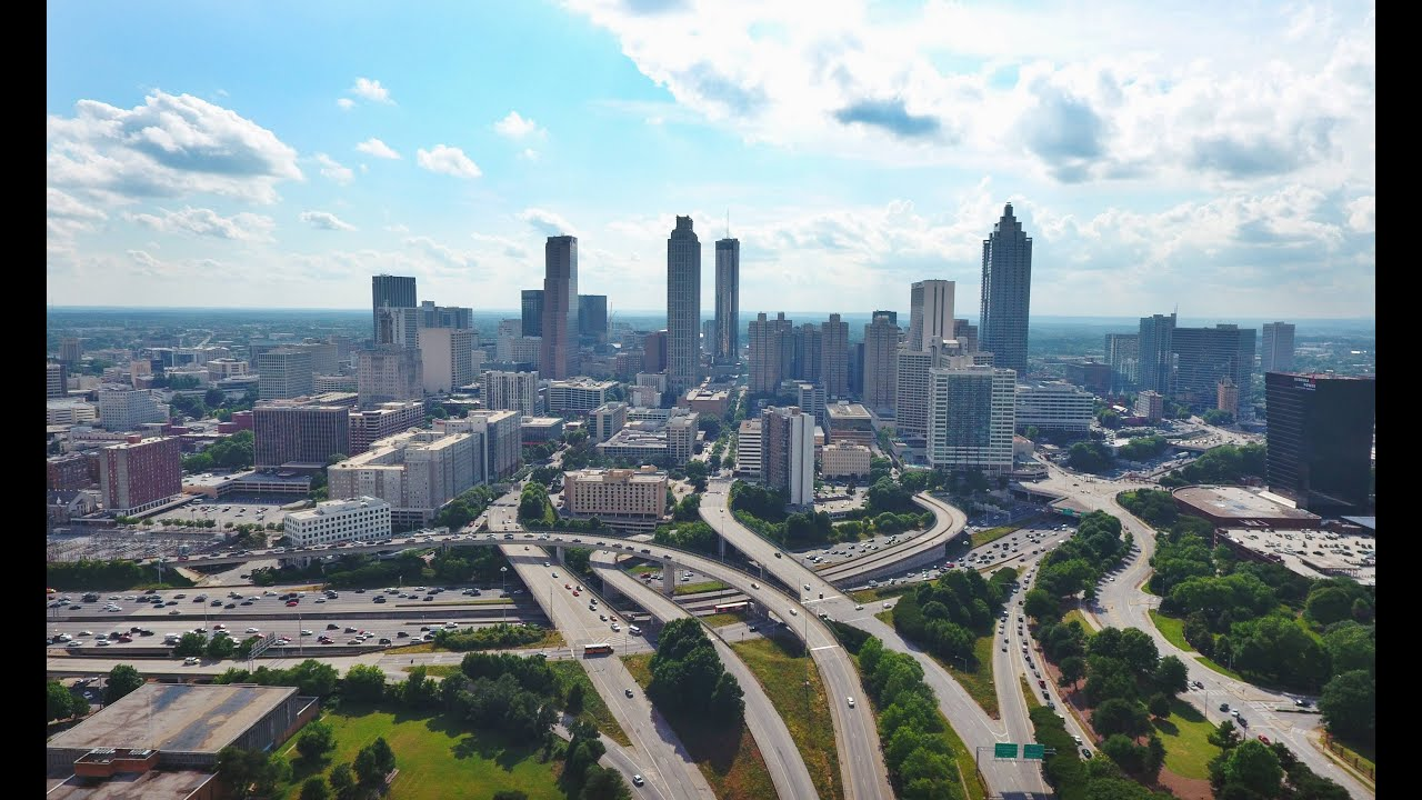 Best Drone Shots Of Atlanta
