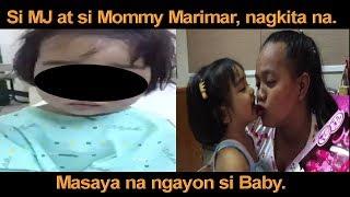 SA WAKAS, BABY AT MOMMY NAGKITA NA. PANOORIN ANG HAPPY MOMENTS NILA!!!