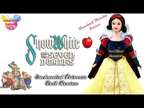 Throwback Thursday Reviews: Mattel Disney Collector Dolls Enchanted Princess Snow White  Review