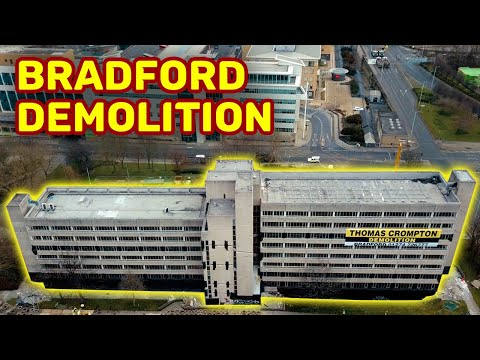 BRADFORD JACOBS WELL DEMOLITION - DRONE VIEW