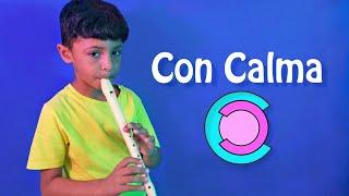 Con Calma en flauta - Juan kids music