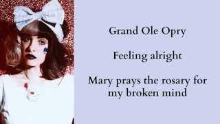 Repeat youtube video Melanie Martinez - Body Electric (Lana Del Rey Cover) +Lyrics