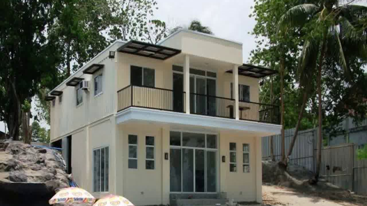 shipping container house for sale philippines - youtube