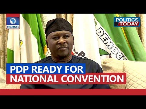 PDP Prepared To Conduct The Fairest Convention In Nigeria - Gov Fintiri | Politics Today