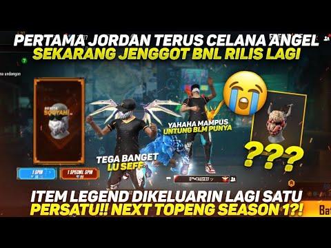 Download PERTAMA JORDAN TERUS CELANA ANGEL SEKARANG JENGGOT BNL😭 ITEM LEGEND DIKELUARIN SEMUA NEXT SEASON 1?!