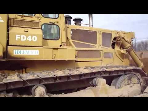 Fiat Allis FD 40 Bulldozer walk around