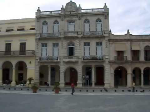 Plaza Vieja Square in Havana, Cuba