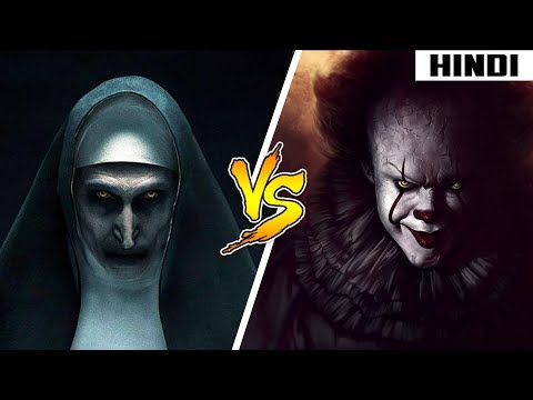Pennywise vs Nun - Who will WIN | Face-Off | Haunting Tube
