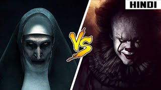 Pennywise vs Nun - Who will WIN   Face-Off   Haunting Tube