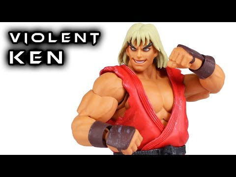Storm Collectibles VIOLENT KEN Ultra Street Fighter 2 Action Figure Review