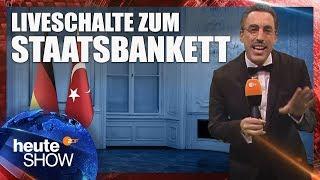 Liveschalte zum Staatsbankett für Erdogan