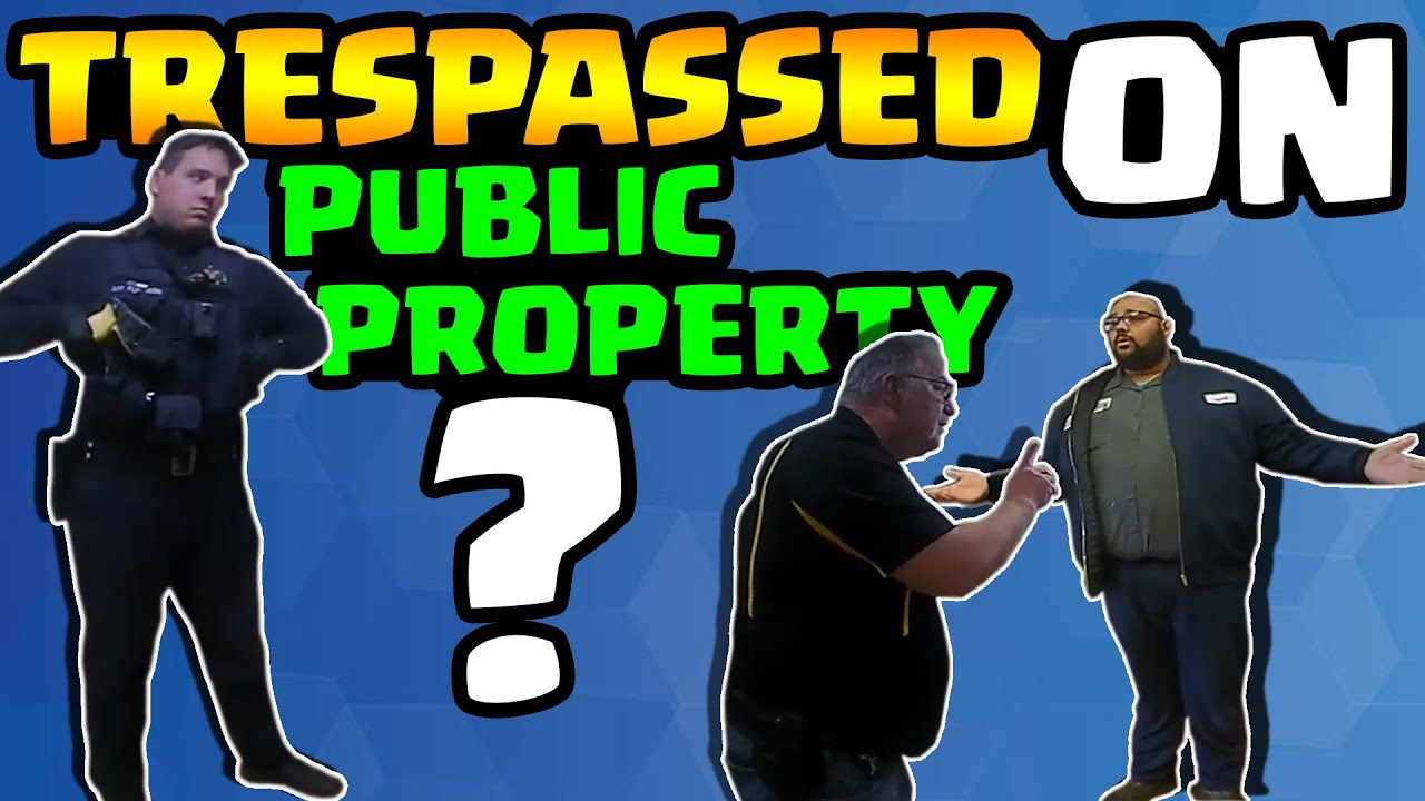 ***TYRANT ALERT*** --- TRESPASSED FROM PUBLIC!