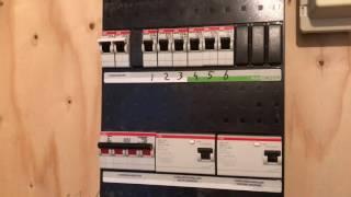 Volledige elektra van appartement vervangen + nieuwe groepenkast plaatsen