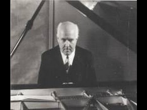 Walter Gieseking plays Bach Two Part Inventions