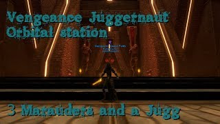 [Satele Shan] SWTOR Vengeance Juggernaut - Orbital Station, 3 Maras and a jugg.