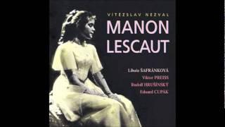 Manon Lescaut Nezval Lucerna 1988