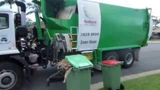 J.J.Richards Redlands Green Waste Truck #12BC