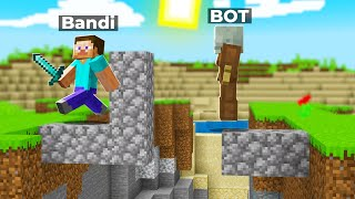 Minecraft Speedrun But A.I. trys to stop me..