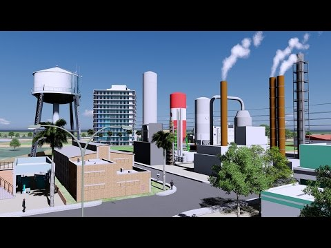 INDUSTRIAL ECONOMIC ZONE | 3D Architectural Animation
