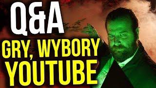 Q&A - Start w Wyborach - Gry - Najlepszy Premier - Koniec Youtube - Zapytaj Atora