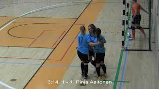 Naisten futsal-cup 2018-2019 / FC Nokia vs. Ylöjärven Ilves maalikooste 18.11.2018