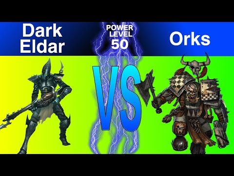 Warhammer 40k 8th Edition Live Battle Report Dark Eldar Vs Orks