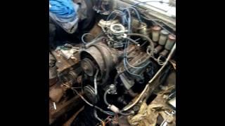 Работа двигателя ЛуаЗ на карбраторе Солекс и с бесконтактной  системой зажигания УАЗ