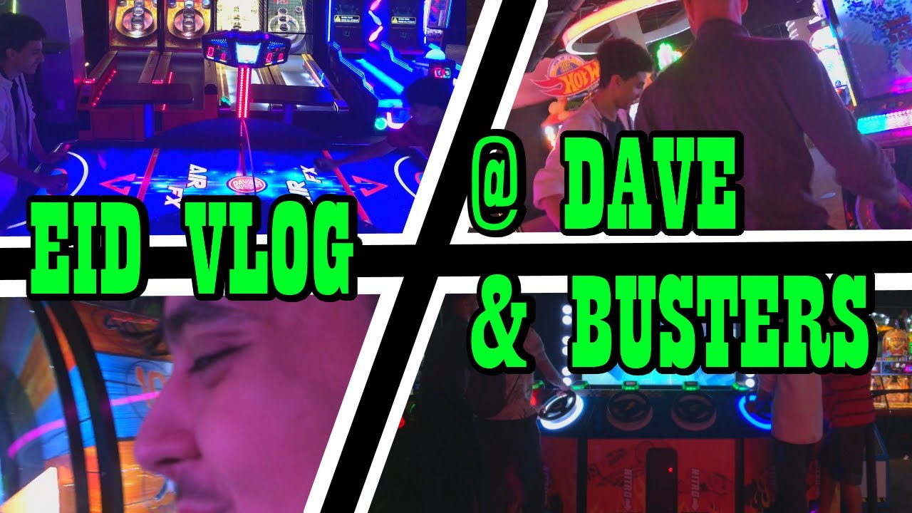 OUR FIRST CUZZOS EID VLOG AT THE ARCADE
