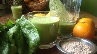 Orange Spinach Smoothie ~ Take 3