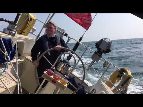 Sailing the Irish Sea