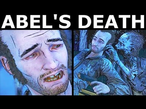Abel's Death - The Walking Dead Final Season 4 Episode 1: Done Running |