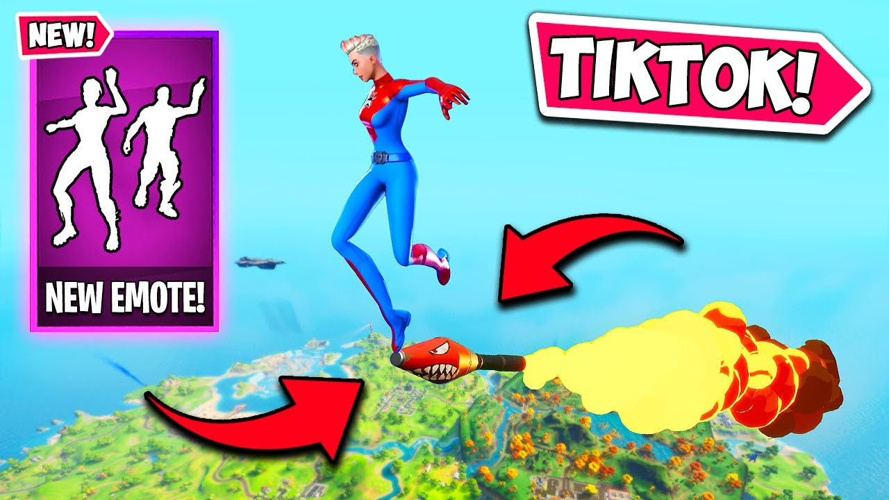 *NEW* VIRAL TIKTOK EMOTE IS HERE!! - Fortnite Funny Fails and WTF Moments! #1039