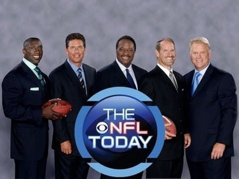 who played football today cbs football