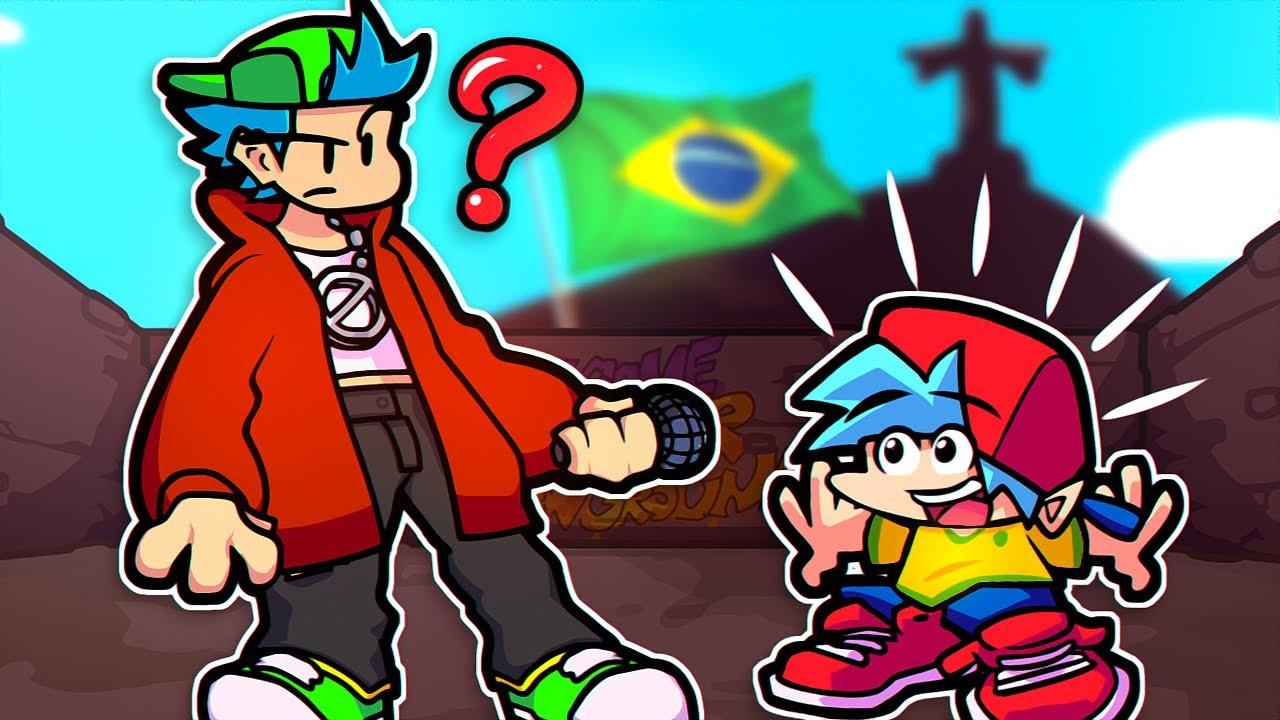 O NAMORADO TEM UM IRMÃO BRASILEIRO! Friday Night Funkin VS A Problem Between Brothers
